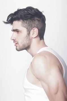 Men's style . Men's hair