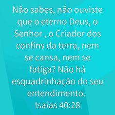 Isaías 40:28