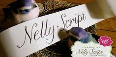 lovely font: Nelly Script
