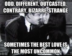 Gomez and Morticia Addams Family Quotes, Love Quotes, Inspirational Quotes, Quotes Pics, Random Quotes, Dark Love, My Love, Los Addams, Gomez And Morticia