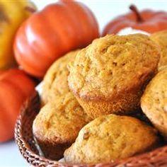 Pumpkin Wheat Honey Muffins Allrecipes.com