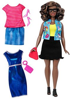 Each Barbie Fashionistas doll has her own look and style -- from casually cool to boho bold all fashions are inspired by the latest trends and with two additional complete outfits the styling fun is...