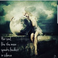 Her soul like the moon; moon quotes