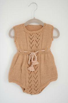 Vintage baby romper
