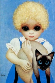 Big Eyes Blondie by Margaret Keane