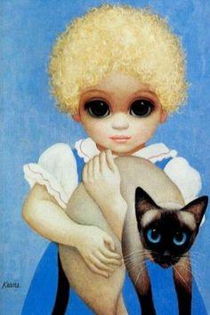 Big Eyes Blondie by Margaret Keane