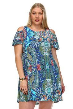 Plus Size Into Obsession Dress