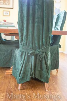 Have some old chairs that are still solid but need some TLC? These ugly chair covers hid the broken caning that had been replaced with plywood. See how they wer…
