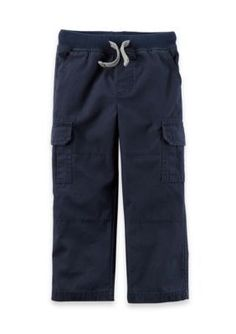 Carter's Cargo Pants Toddler Boys - Navy - 4T