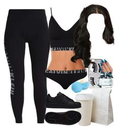 """"""":::"""" by mafiaprinc3ss ❤ liked on Polyvore featuring Chiara Ferragni, Calvin Klein, adidas, Eos and Tommy Hilfiger"""