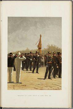 202865189cadd Infanterie O.I. leger. Groote en kleine tenue. 1896 Maker ontwerper  Veer