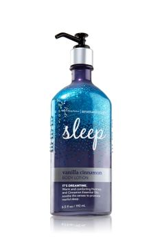Absolutely love this sleep product from bath & body works!!  The smell is so relaxing!