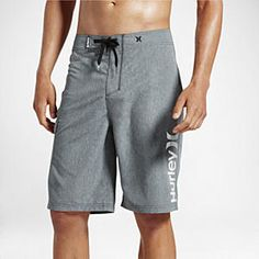 """Hurley Heathered One And Only Men's 22"""" Boardshorts"""