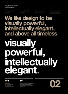 Typographic Poster Design by Anthony Neil Dart Typographic Posters by Anthony Neil Dart with quotes by Massimo Vignelli Web Design, Resume Design, Massimo Vignelli, Typography Layout, Creative Typography, Poster Design, Typographic Poster, Poster Series, Social Media Design