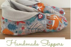 How to sew your home slippers – tutorial and pattern