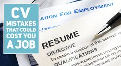 Making a mistake on your CV could cost you a job. Here are 11 things that you definitely shouldn't do.