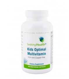 The Best Kids Multivitamin for kids who can handle both minerals and daily vitamins in one!