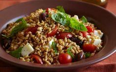 Caprese Di Farro by Debi Mazar and Gabriele Corcos (Olive, Tomato) @FoodNetwork_UK