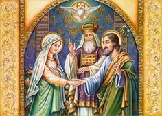 On 23 January we celebrate the Betrothal of Mary and Joseph! #Catholic #FeastDay #PrayforUs
