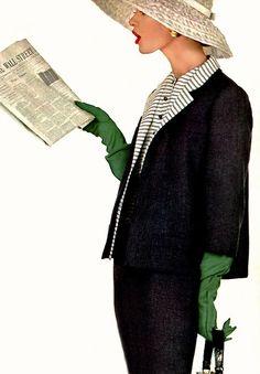 Photo by Richard Avedon for Harper's Bazaar, March 1955