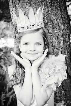 Vintage girl crown