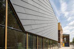 Gymzaal Slaghekstraat in Rotterdam door Koning Ellis architecten - alle projecten - projecten - de Architect