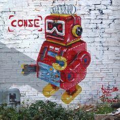 By @conse.eu in Barcelona - http://ift.tt/1oYwETj  #globalstreetart by globalstreetart