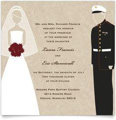 patriotic wedding themes patrioticmilitary wedding theme flat square wedding invitations - Patriotic Wedding Invitations