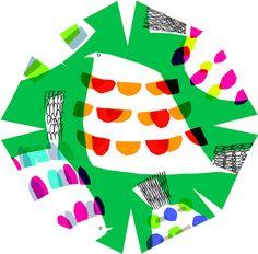 umbrella textiles by marimekko designer masaru suzuki.