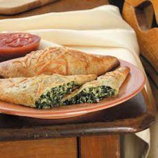 Spinach Calzones Recipe