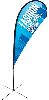 Teardrop Flags Images Banner