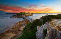 La Perouse peninsula is the northern headland of Botany Bay New South Wales Australia.