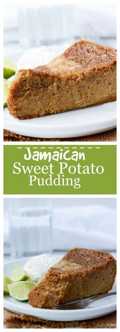 Vegan Jamaican Sweet Potato Pudding - Healthier Steps It's called pudding, but it's more like a sweet potato pie consistency. Coconut Dessert, Oreo Dessert, Coconut Sugar, Coconut Flour, Jamaican Dishes, Jamaican Recipes, Jamaican Desserts, Vegan Dessert Recipes, Delicious Desserts