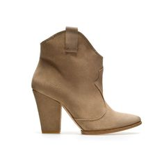 BOTTINES CAMPAGNE - Bottines - Chaussures - Femme | ZARA France