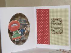 Inside christmas card using kanban patchwork pals Christmas Cards, Xmas, Card Making, How To Make, Scrappy Quilts, Xmas Greeting Cards, Yule, Navidad, Xmas Cards