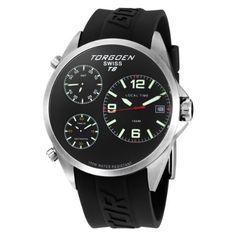 Torgoen Swiss Men's T08301 Triple Time Watch