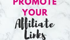 5 New Ways To Promote Your Affiliate Links on Social Media