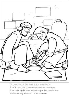 Fishers of Men Coloring Page church Pinterest Fisher Sunday