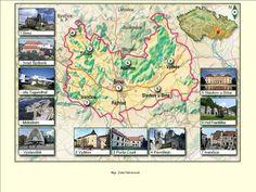 Czech Republic, Vintage World Maps, Retro, Retro Illustration, Bohemia