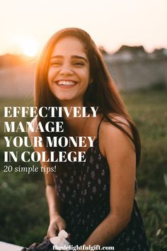 Not everyone has the opportunity to enter college with a lot of money or a large allowance. If you only have a little money to spend then you should read this post that I wrote. It'll help you figure out how you can effectively manage the little money that you have and how to make your money do more. I'll show you the money management hacks and tips that I personally used to survive college on little money. #moneymanagementhacks #collegetips #budgetingtips #moneyhacks
