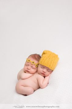 Boy and Girl newborn twin photographer fall photos in Pittsburgh Anne Wilmus Photography 9 Finnegan & Ellinore Boy and Girl Newborn Twin Fa...