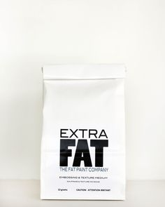 Extra FAT adds dimension & texture to any project simply by enhancing the consistency of any FAT Paint color.