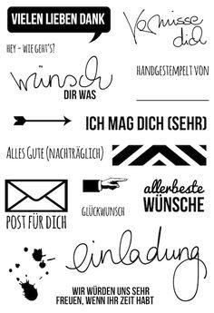 #dpKartenstempel AddOn zum #dpMaikit15 von www.danipeuss.de | Klartext Stempel…