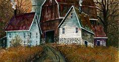 Farm House Mail Canvas Print / Canvas Art by Steven W Schultz | Farm House, Farms and House