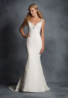 Alfred Angelo Signature- I like the cut and shape but not really the lace