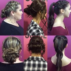 Happy Monday!!! It's Prom season, are you ready to stand out and make a statement?  Call our Salon & Spa today 1-800-TRAIN-ME to schedule your Hair & Makeup appointment and look as stylish and beautiful as these High School students.   These amazing Updos were created by our talented #hiorlando Cosmetology students.  #hi #hibc #hollywoodinstitute #hijourney #beauty #beautyschool #cosmetology #hair #hairstyle #hairstylist #hairstyles #updo #braids #braids #prom #look #trend #fashion #style…
