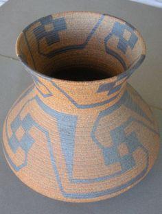 David Salk   Ceramic Pima Indian Vase