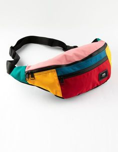 VANS Ward Color Block Fanny Pack Best Picture For fannypack outfits for men For Your Taste You are l Fashion Bags, Fashion Accessories, Waist Purse, Bum Bag, Medium Bags, Cute Bags, Womens Fashion Online, Mini Bag, Robin