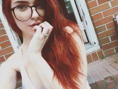 I'm gingery now!  #selfie #girlswithpiercings #piercings #septum #philtrum…