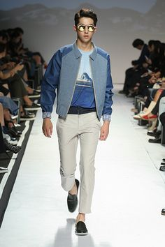 Nam Joo Hyuk at The Studio K Spring 2015 Seoul Fashion Week